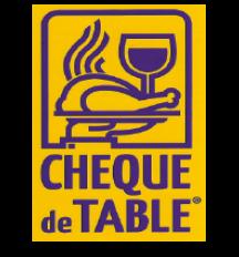 chèque table
